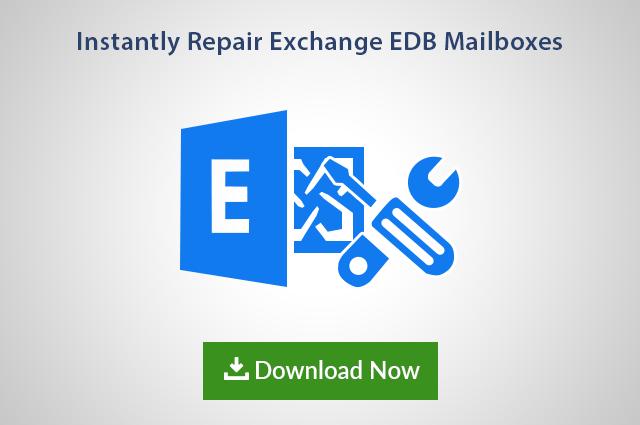 Repair EDB File Exchange Database – Inbuilt Eseutil & Isinteg Utility